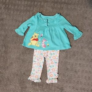 Disney Matching Sets - Winnie the Pooh outfit